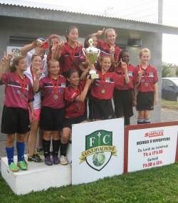 U12 féminin Bourg-Joli