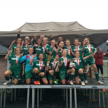 Félicitations au U12A féminin pour les séries éliminatoires!