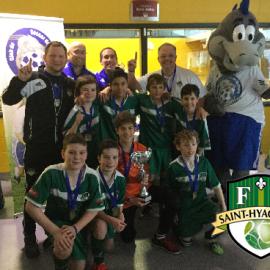 Le U-12 AA Masculin du FC St-Hyacinthe commence l'année en force !