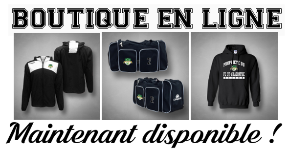Boutique en ligne maintenant disponible !